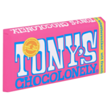 Tony's Chocolonely Wit Framboos Knettersuiker 180g_