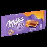 Milka Caramel Melk Chocolade Reep 100g_