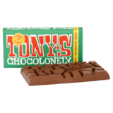 Tony's Chocolonely Melk Hazelnoot 180g_