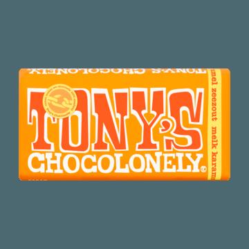 Tony's Chocolonely Zeezout Melk Karamel 180g