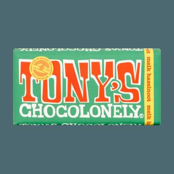 Tony's Chocolonely Melk Hazelnoot 180g
