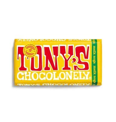 Tony's Chocolonely Melk Noga 180g