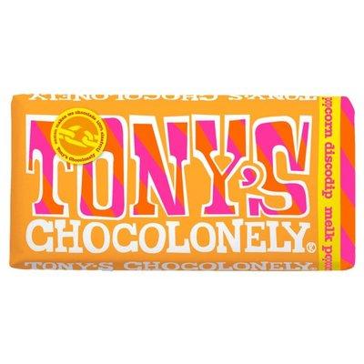 tony chocolonely melk popcorn discodip