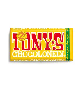 Tony's Chocolonely Melk Noga 180g